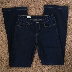 Gap Mid Rise Flare Jeans 28R